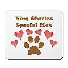 King Charles Spaniel Mom Mousepad