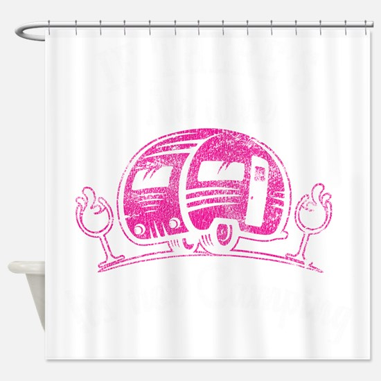Funny Women%27s scoop neck Shower Curtain