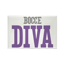 Bocce DIVA Rectangle Magnet