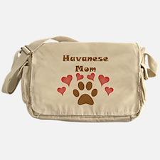 Havanese Mom Messenger Bag