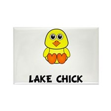 Lake Chick Rectangle Magnet (10 pack)