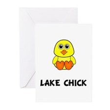 Lake Chick Greeting Cards (Pk of 10)