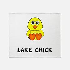 Lake Chick Throw Blanket
