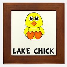Lake Chick Framed Tile