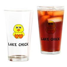Lake Chick Drinking Glass
