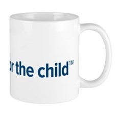 I am for the child Small Mugs