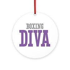 Boxing DIVA Ornament (Round)