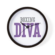 Boxing DIVA Wall Clock