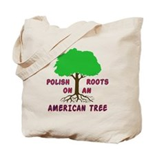 Polish American Roots Tote Bag
