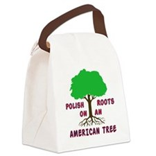 Polish American Roots Canvas Lunch Bag