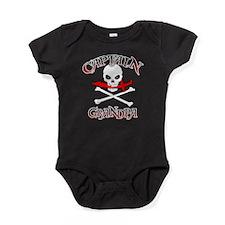 Captain Grandpa Baby Bodysuit