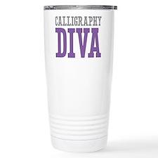 Calligraphy DIVA Thermos Mug