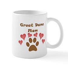 Great Dane Mom Small Mug