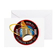 Exploration Flight Test 1 Greeting Cards (Pk of 10