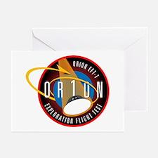 Exploration Flight Test 1 Greeting Cards (Pk of 10