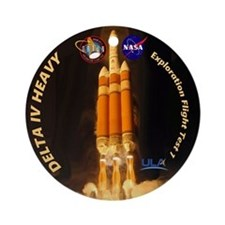 Delta IV Heavy Ornament (Round)