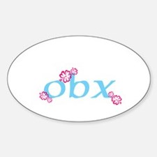 obx, outer banks, nc Decal