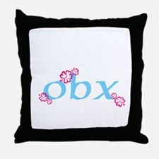 obx, outer banks, nc Throw Pillow