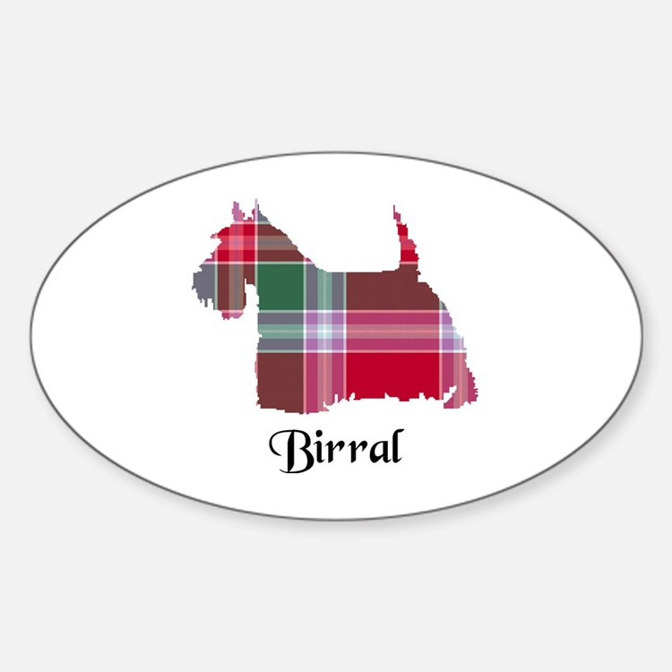 Terrier - Birral Sticker (Oval)