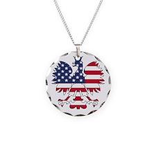 Polish American Eagle Necklace