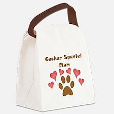 Cocker Spaniel Mom Canvas Lunch Bag