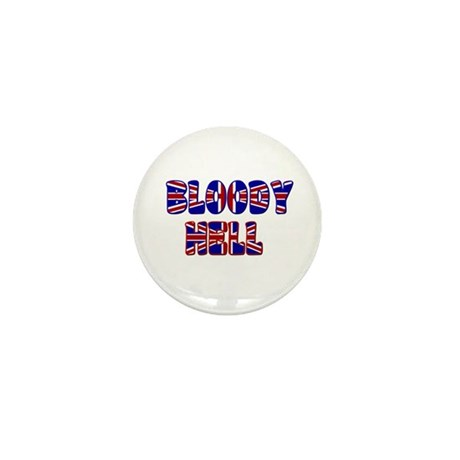BLOODY HELL Mini Button (10 pack)