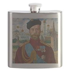 Tsar Nicholas II Flask