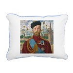 Tsar Nicholas II Rectangular Canvas Pillow
