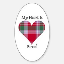 Heart - Birral Sticker (Oval)