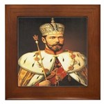 Tsars Coronation Framed Tile