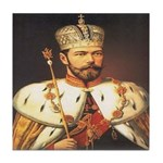 Tsars Coronation Tile Coaster