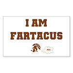 Fartacus Rectangle Sticker