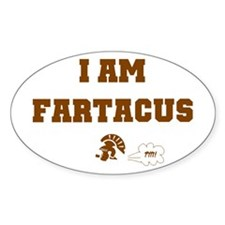 Fartacus Oval Decal