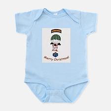 Airborne Santa Infant Bodysuit