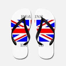 Reading England Flip Flops
