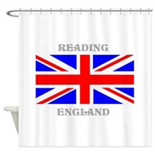 Reading England Shower Curtain
