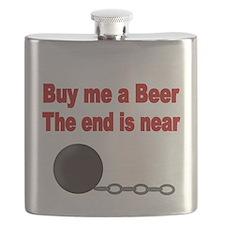 BUY ME A BEER Flask