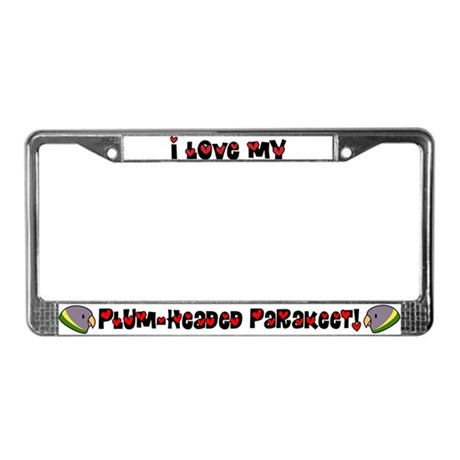 Female Anime PHP License Plate Frame