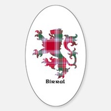 Lion - Birral Sticker (Oval)