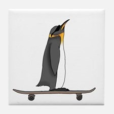 Cool Penguin Tile Coaster