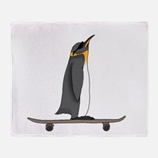 Cool Penguin Throw Blanket