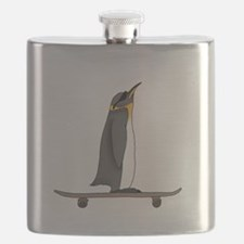 Cool Penguin Flask