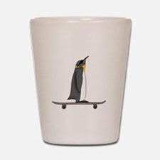 Cool Penguin Shot Glass