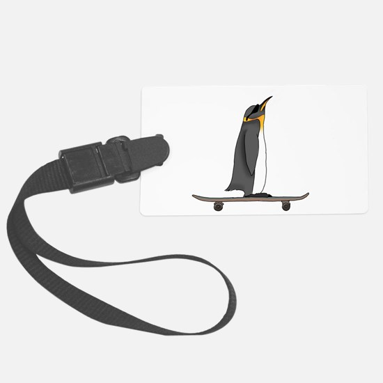 Cool Penguin Luggage Tag