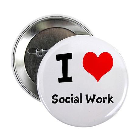 "I heart Social Work 2.25"" Button (10 pack)"
