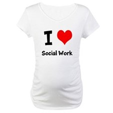 I heart Social Work Shirt