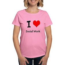 I heart Social Work T-Shirt