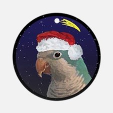 Christmas Night Blue Quaker Parakeet Ornament