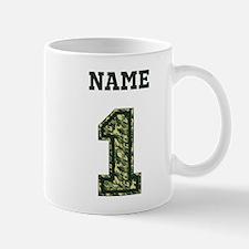 Personalized Camo 1 Small Mugs