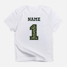 Personalized Camo 1 Infant T-Shirt